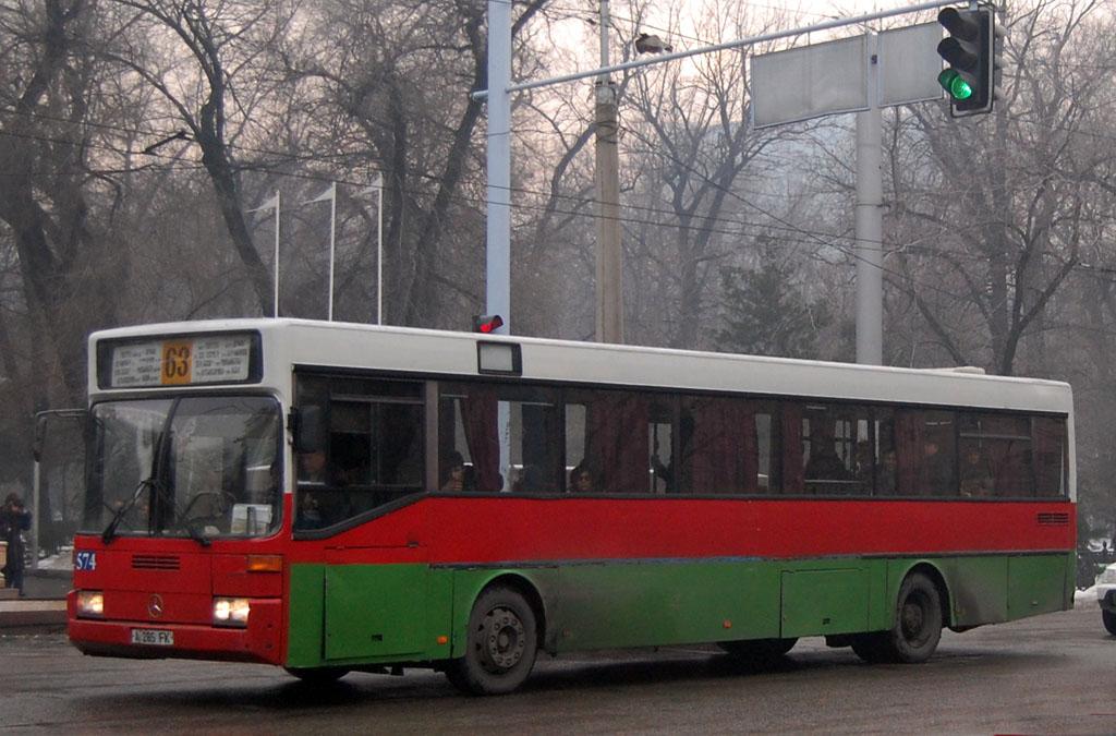 Almaty, Mercedes-Benz O405 # 574