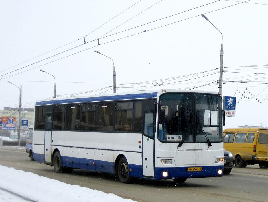 Тульская область, ЛиАЗ-5256.33-01 (ГолАЗ) № АВ 959 71