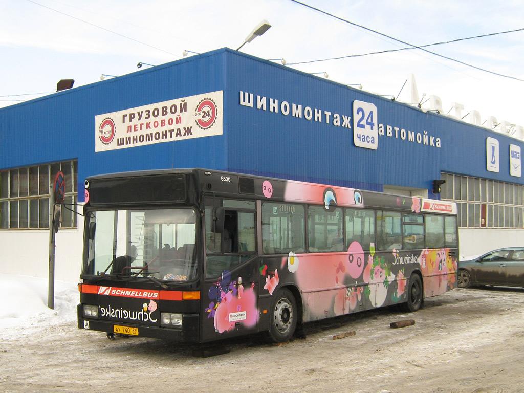 Perm region, Mercedes-Benz O405N # АУ 740 59