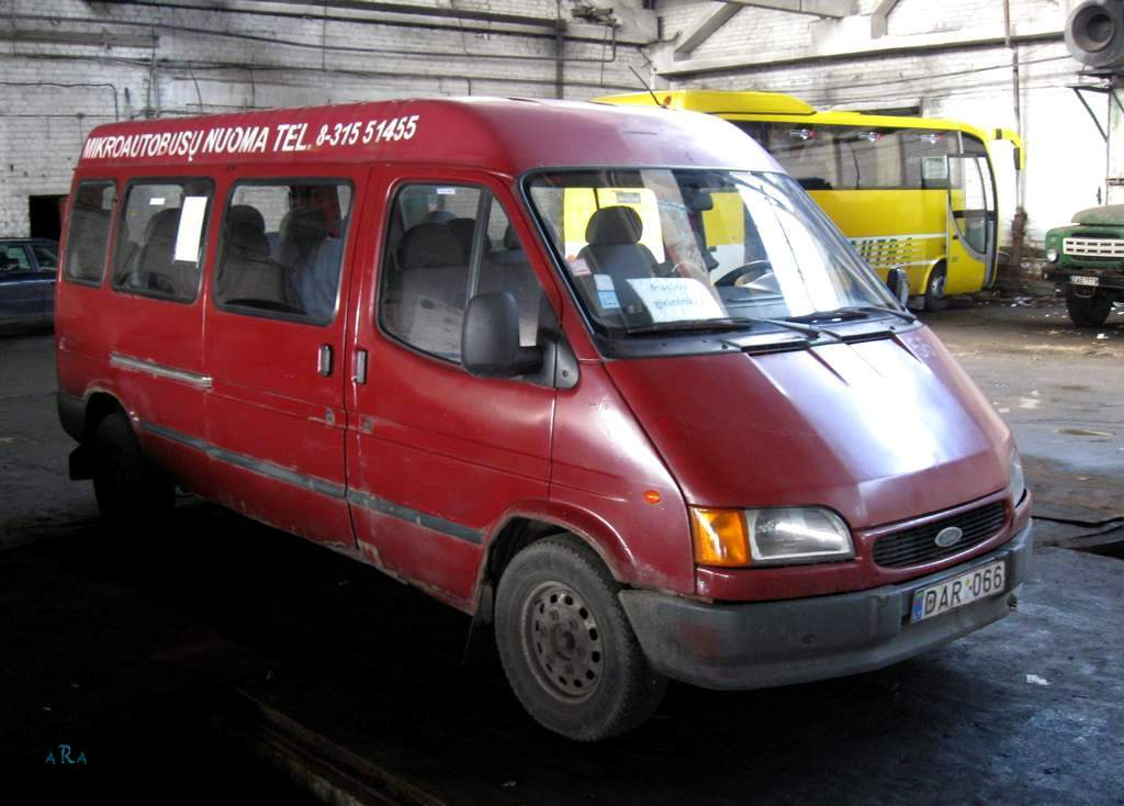 Lithuania, Ford Transit # 60