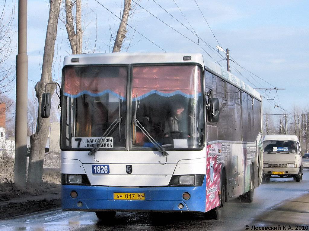 Omsk region, NefAZ-5299-20-15 (5299VF) # 1826