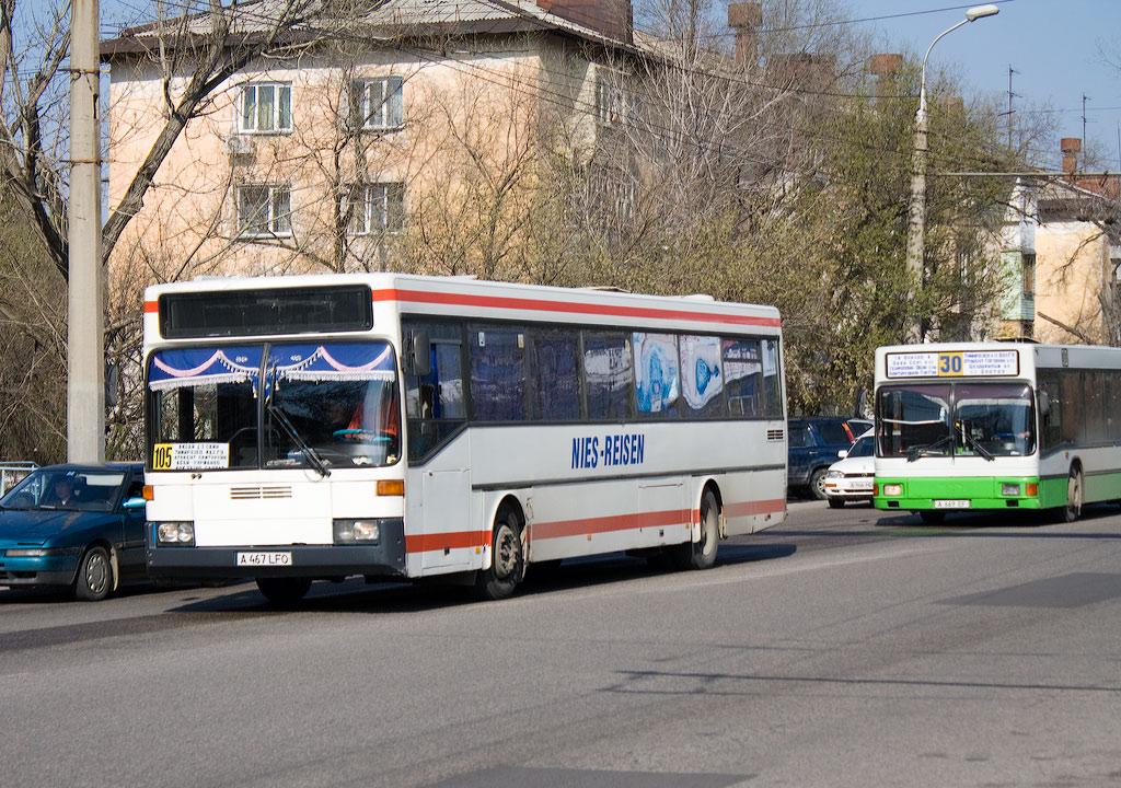 Almaty, Mercedes-Benz O405 # A 467 LFO