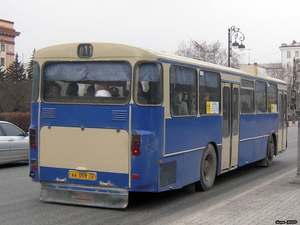 Tumen region, Mercedes-Benz O305 # АА 059 72