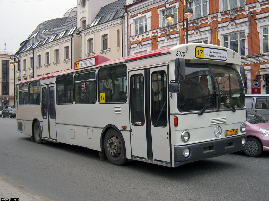 Tumen region, Mercedes-Benz O305 # АЕ 112 72