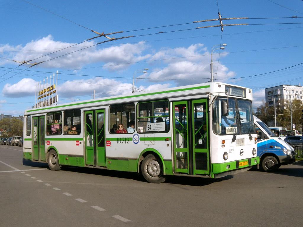 Москва, ЛиАЗ-5256.25 № 10212