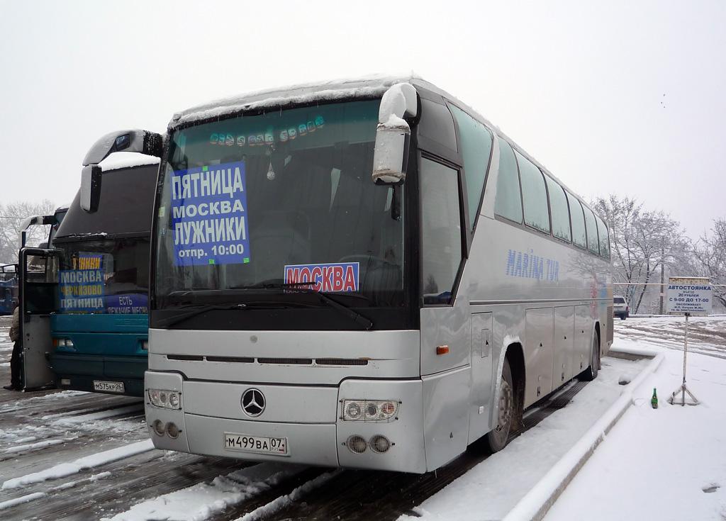 Kabardino-Balkaria, Mercedes-Benz O303-15RHD # М 499 ВА 07
