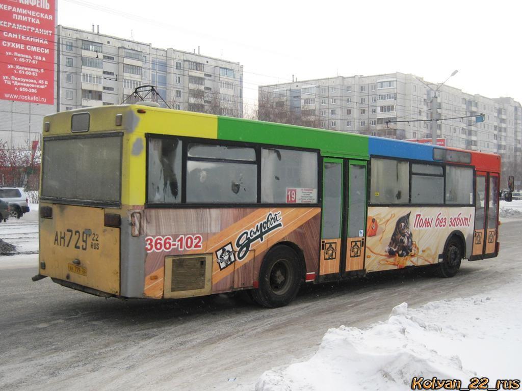 Altayskiy kray, MAN SL202 # АК 729 22