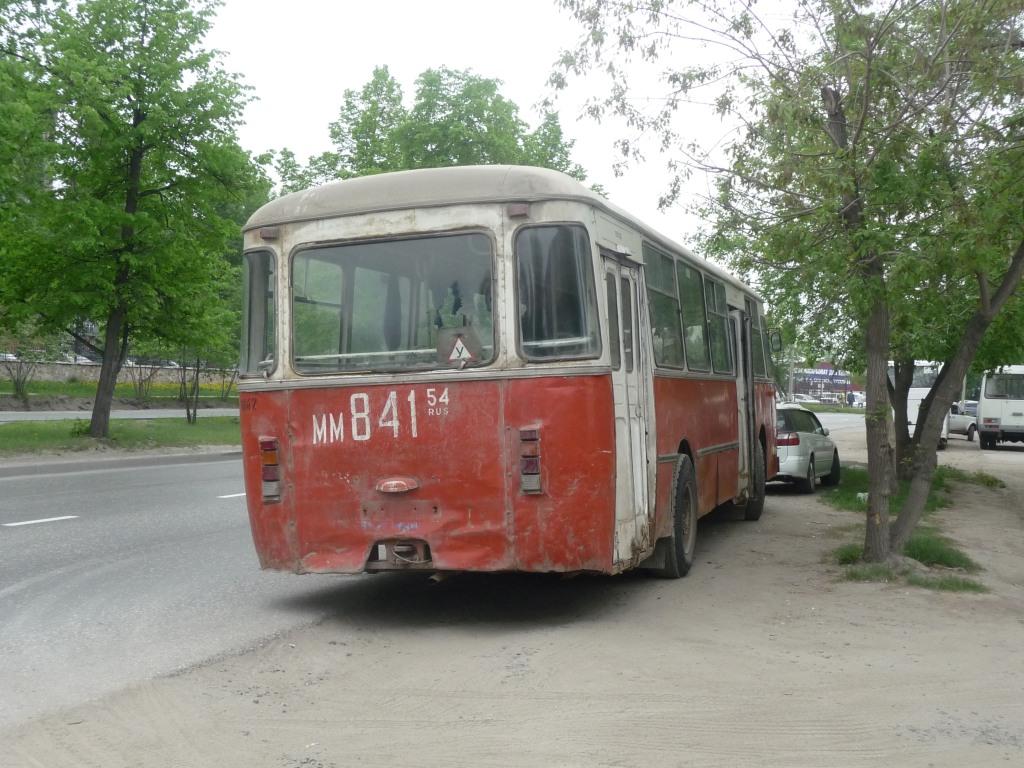 Novosibirsk region, LiAZ-677M (ToAZ) # 8142