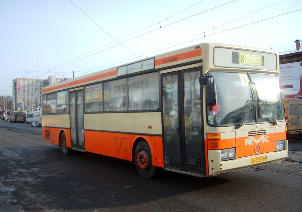 Perm region, Mercedes-Benz O405 # АА 202 59