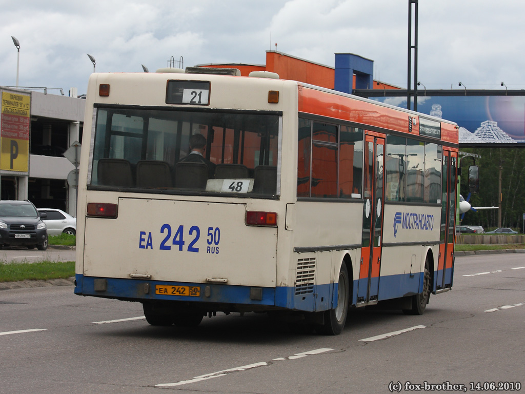 Moscow region, Mercedes-Benz O405 # 0660