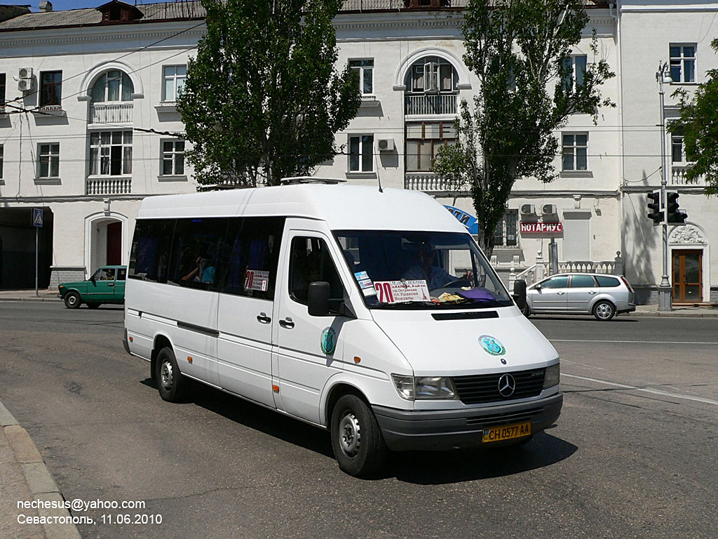 Sevastopol, Mercedes-Benz Sprinter 310D # СН 0577 АА