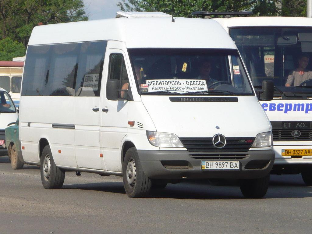 Odessa region, Mercedes-Benz Sprinter 313CDI # ВН 9897 ВА