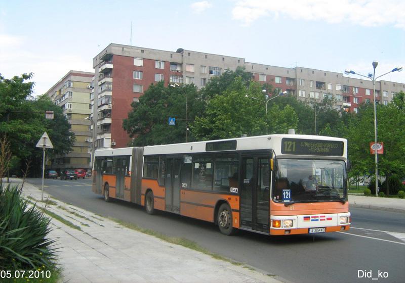 Bulgaria, MAN A11 NG272 # А 3554 КС