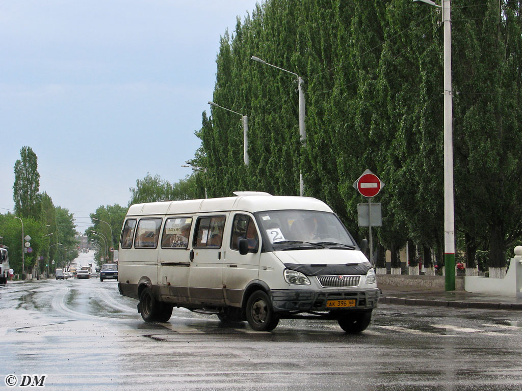 Tambov region, GAZ-3287 (X89-BT2) # АК 396 68