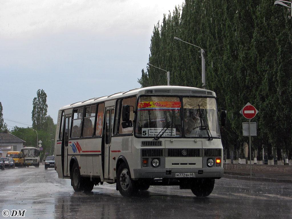 Tambov region, PAZ-4234 (00, T0, K0, B0) # М 772 ВН 68