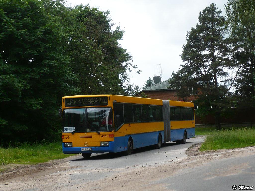Lithuania, Mercedes-Benz O405G # 471
