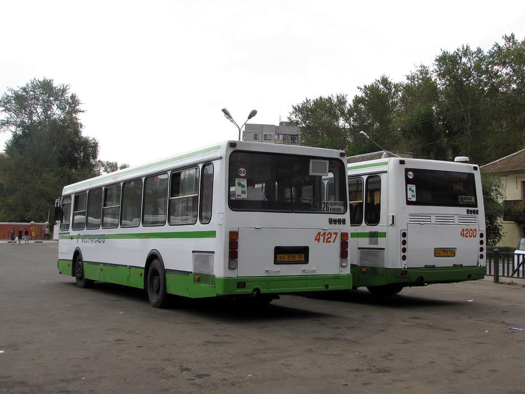 Moscow region, LiAZ-5256.25 # 4127