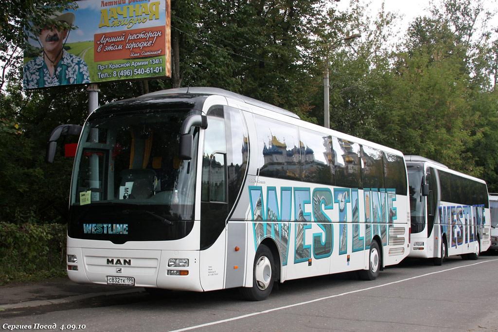 Moscow, MAN R07 Lion's Coach RHC444 # С 832 ТК 199