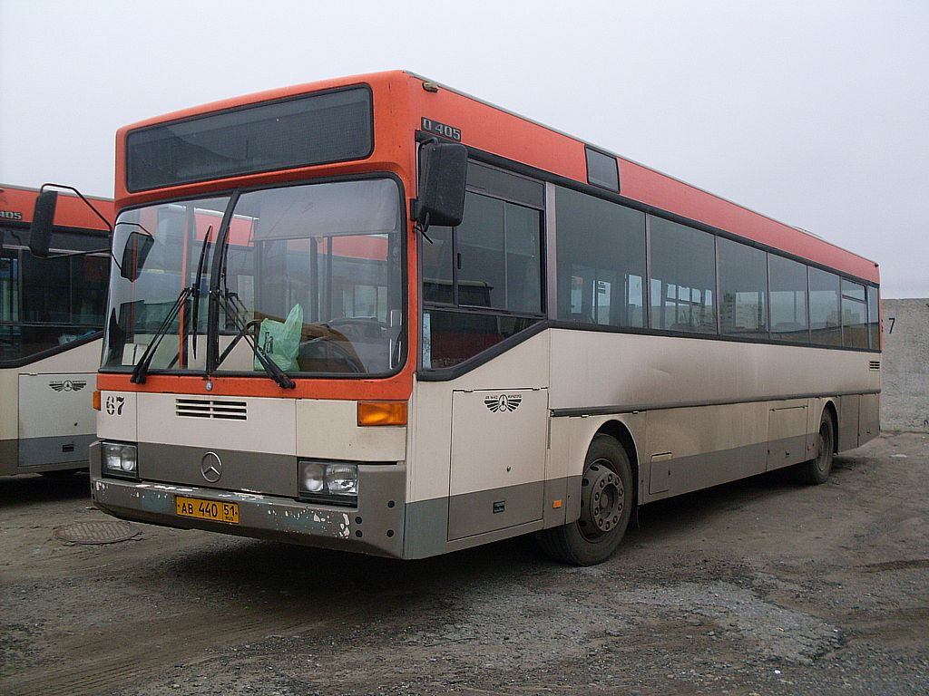 Murmansk region, Mercedes-Benz O405 # 67