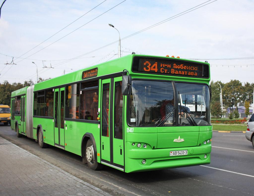 Гомельская область, МАЗ-105.465 № 015407