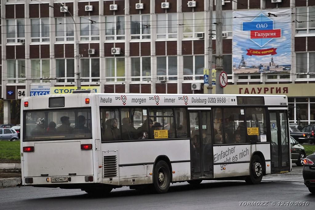 Perm region, Mercedes-Benz O405N2 # Т 827 МО 59