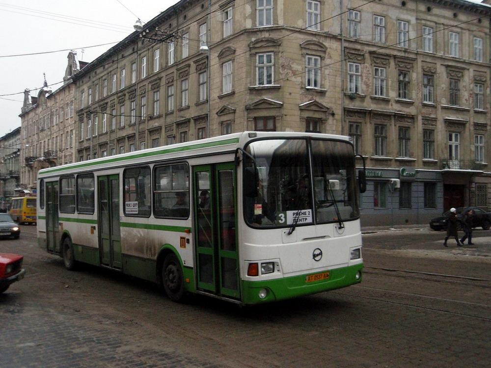 Львовская область, ЛиАЗ-5256.35 № АТ 0537 АА