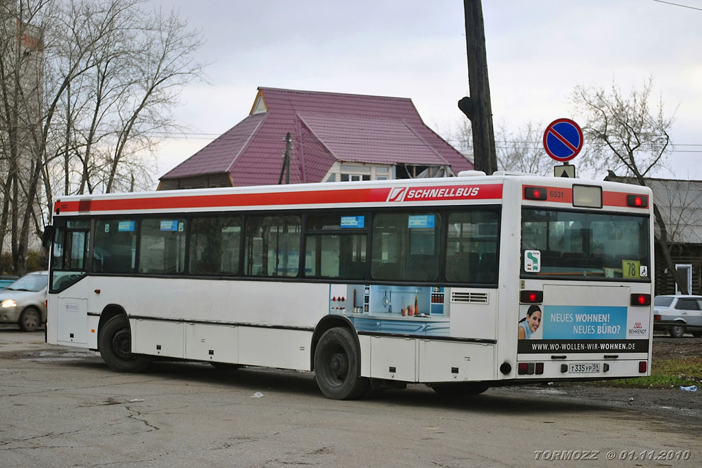 Perm region, Mercedes-Benz O405N # Т 335 УР 59