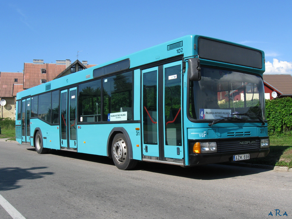 Lithuania, Neoplan N4014NF # 31