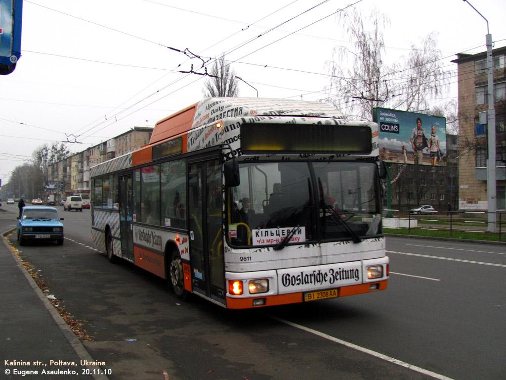 Poltava region, MAN A15 NL232 CNG # ВІ 2308 АА