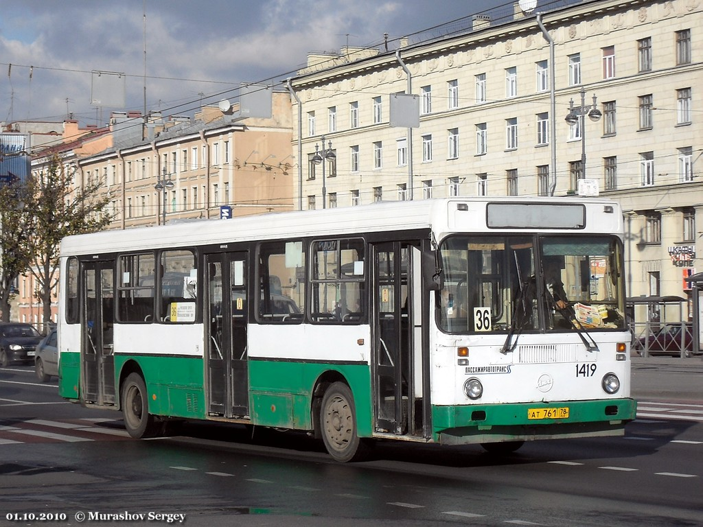 Saint Petersburg, LiAZ-5256.00 # 1419
