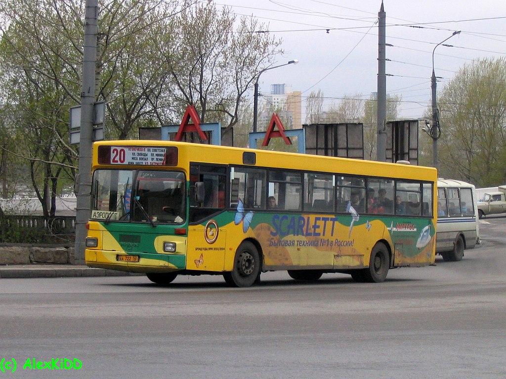 Nizhegorodskaya region, MAN SL202 # АА 722 52