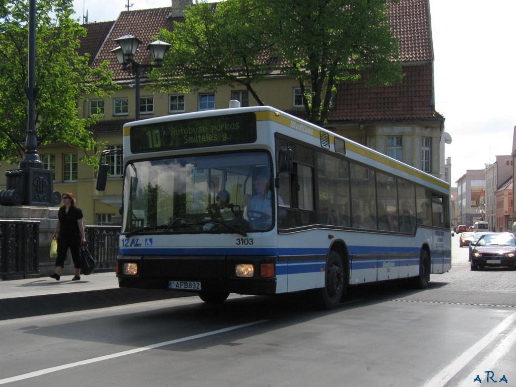 Lithuania, MAN A10 NL202 # 12
