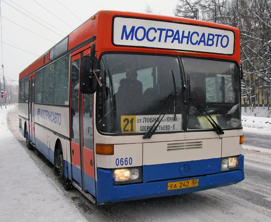 Moscow region, Mercedes-Benz O405 # 0660