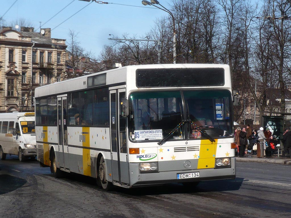 Lithuania, Mercedes-Benz O405 # EDM 134