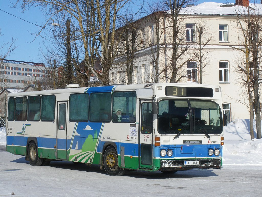 Estonia, Scania CN112CL # 311 AUL