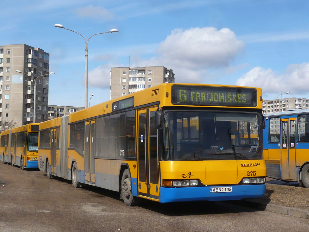 Lithuania, Neoplan N4021/3NF # 275