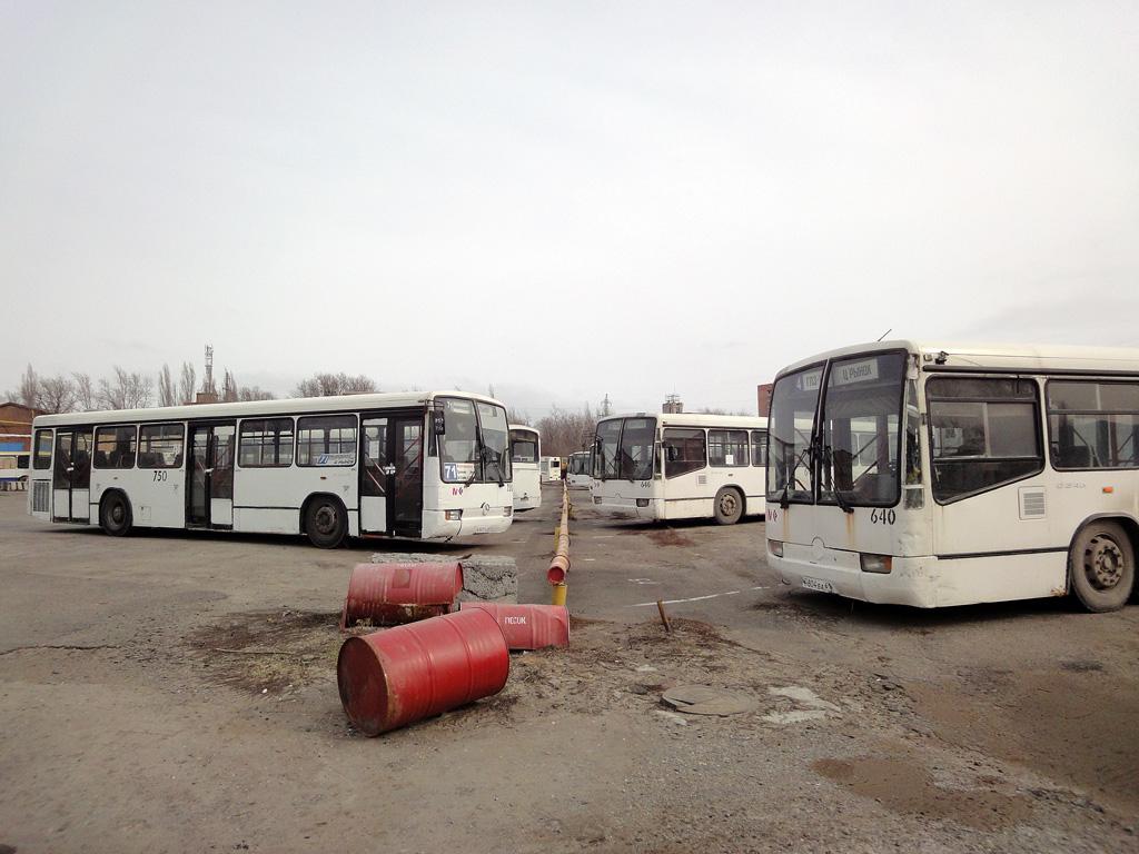 Rostov region — Bus depots