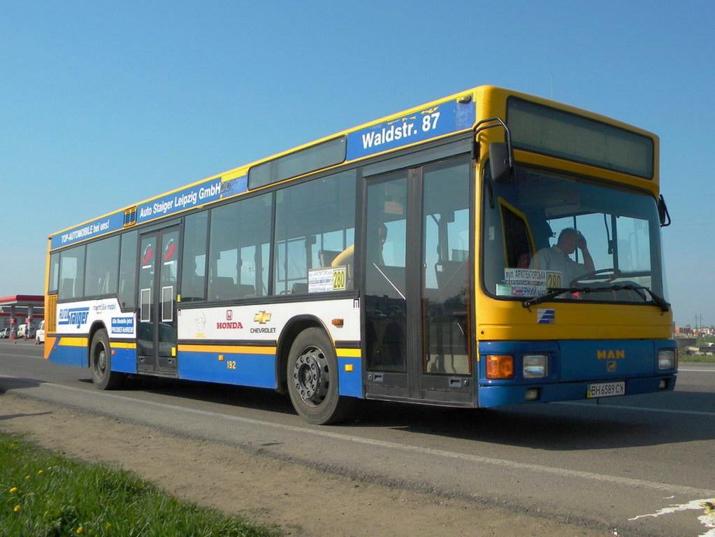Odessa region, MAN A10 NL202 # ВН 6589 СХ