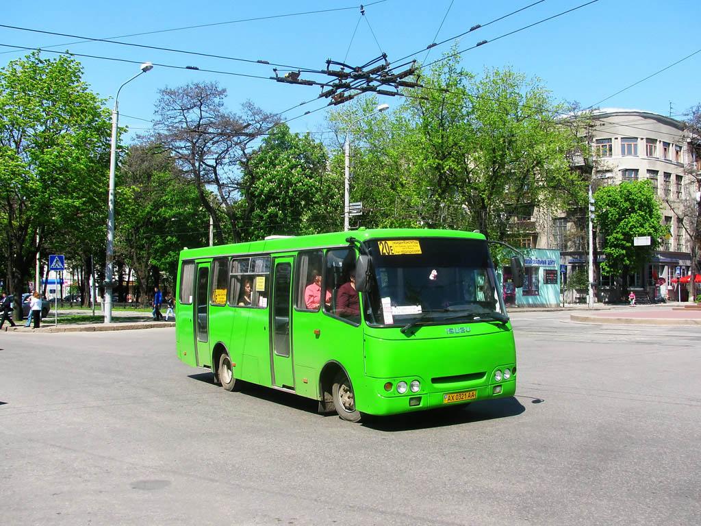 Kharkov region, Bogdan A09202 # АХ 0321 АА