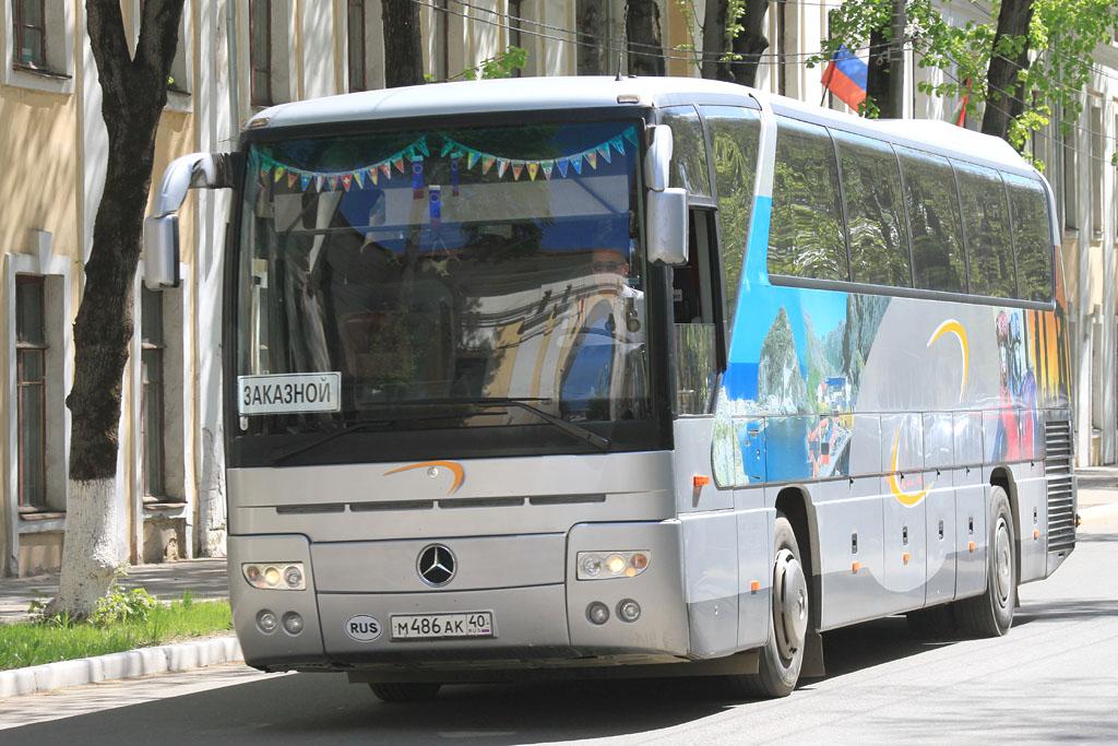 Kaluga region, Mercedes-Benz O350-15RHD Tourismo # М 486 АК 40