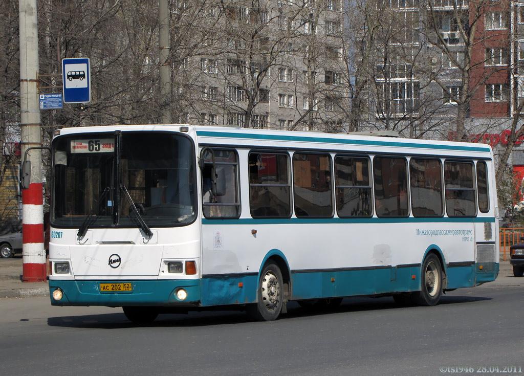 Nizhegorodskaya region, LiAZ-5293.00 # 60207