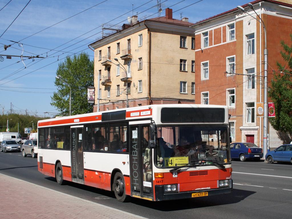 Perm region, Mercedes-Benz O405N # АТ 477 59