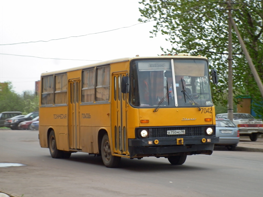 Saint-Petersburg, Ikarus 280.33 # 7042