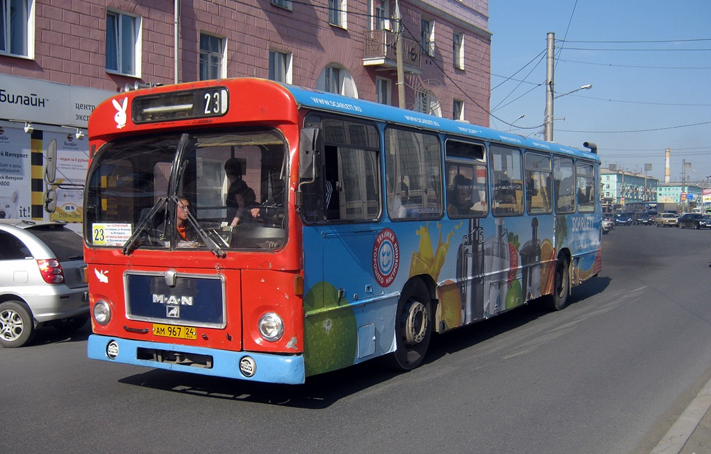 Krasnoyarsk region, MAN SL200 # АМ 967 24