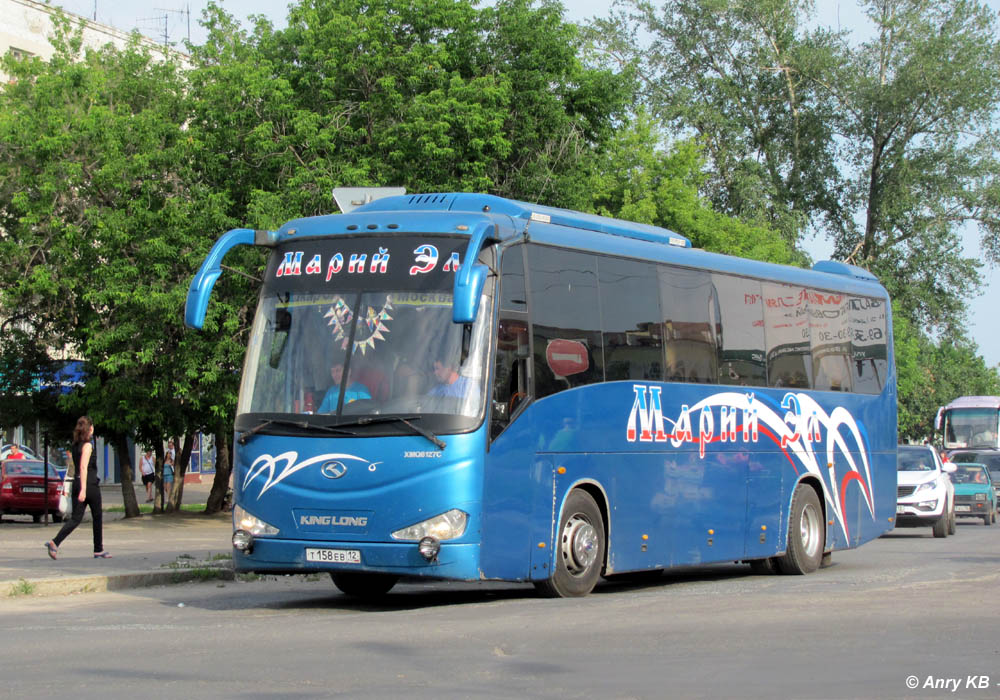 Mari El, King Long XMQ6127C # Т 158 ЕВ 12