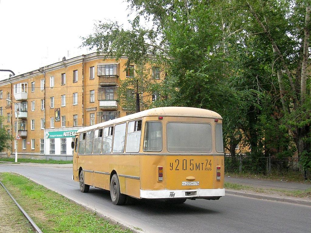 Chelyabinsk region, LiAZ-677M # У 205 МТ 74