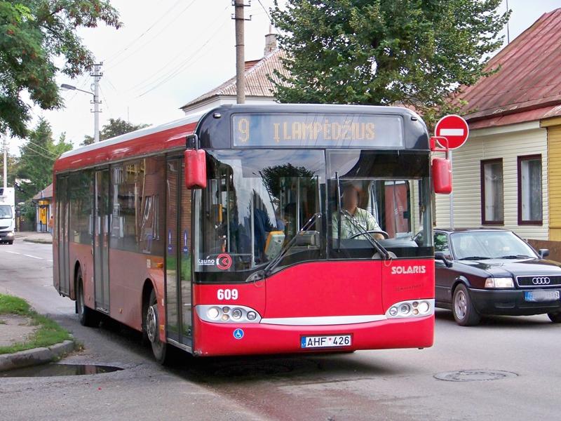 Lithuania, Solaris Urbino 12 # 609