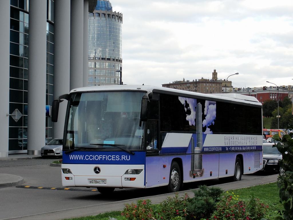Moscow, Mercedes-Benz O560 Intouro # В 078 АС 197