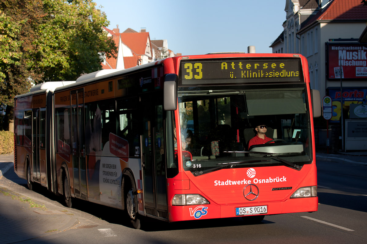 Germany, Mercedes-Benz O530 Citaro G # 316