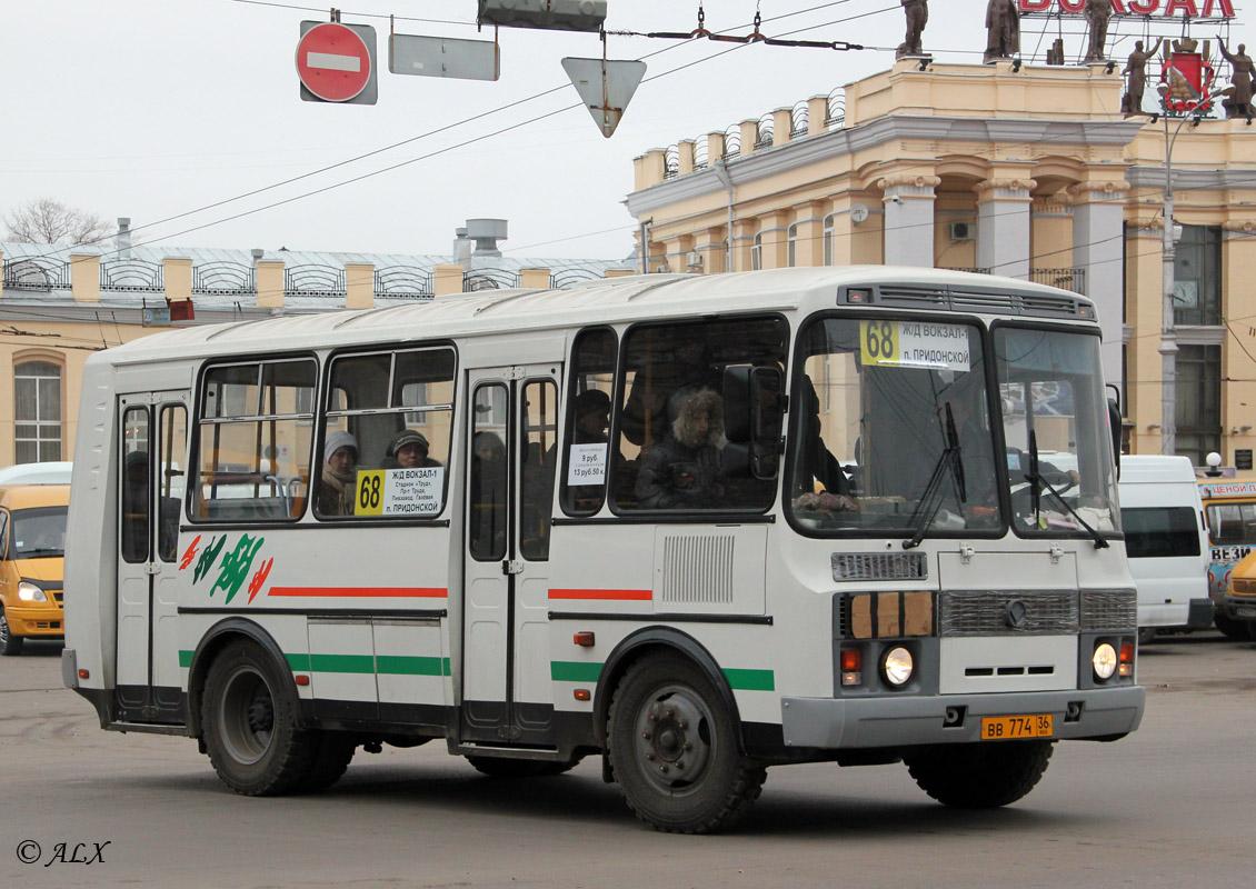 Voronezh region, PAZ-32054 (40, K0, H0, L0) # ВВ 774 36